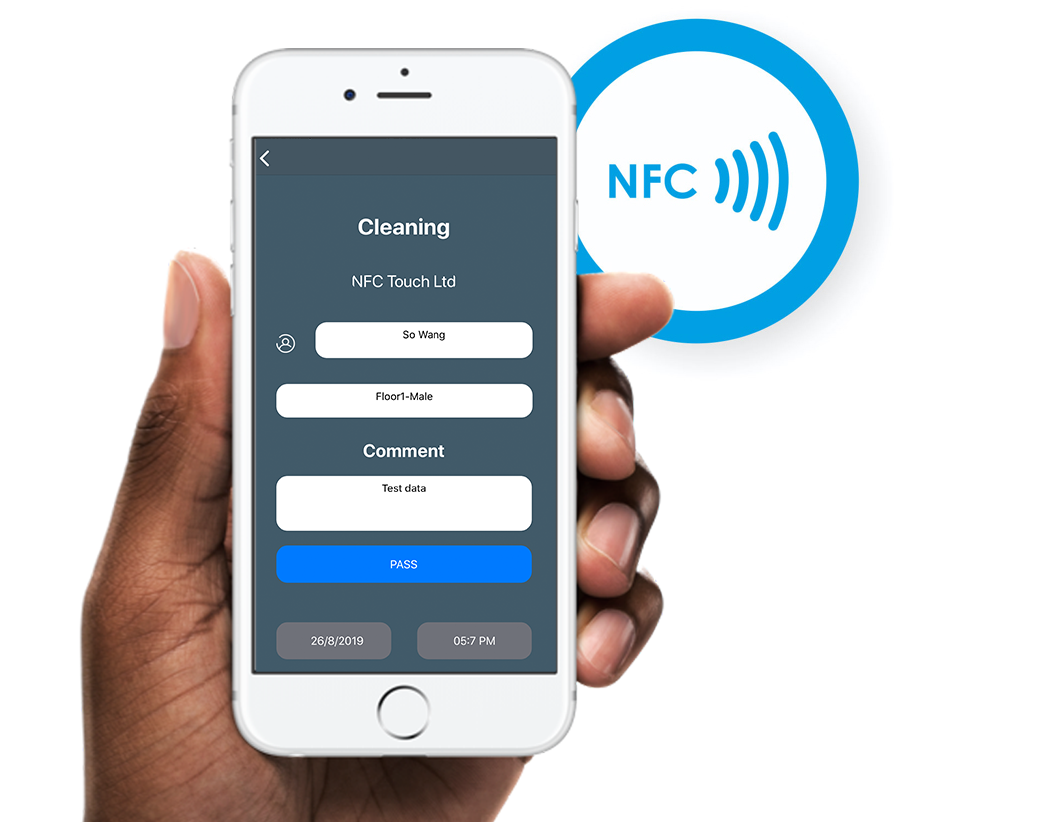 nfc for business app