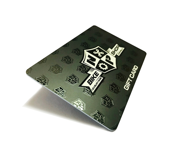 Frosted Finish w/Spot UV NFC Card