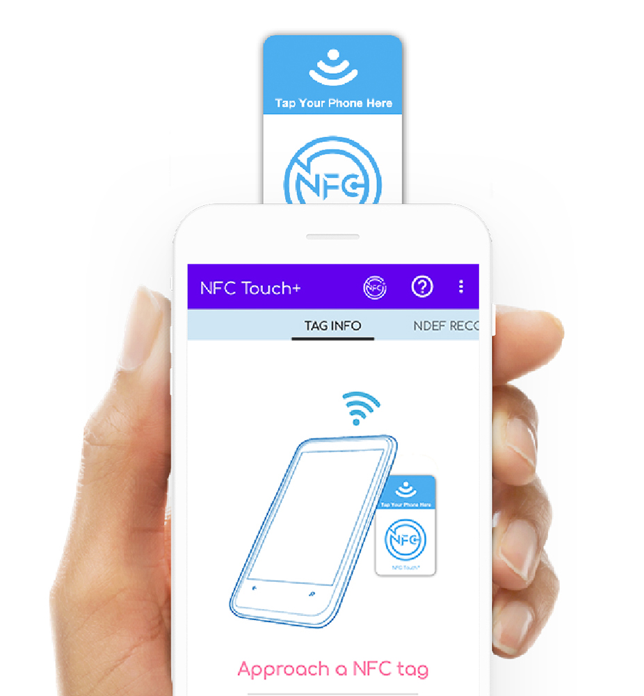 nfc touch+ tag